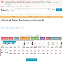 4355: Schad, Christian: Schadographie 44A (Hexenspucke)
