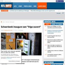 "Schaerbeek inaugure son ""frigo ouvert""- RTL Info- RTL.be"