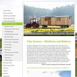 Schäferwagen - Modelle vom Schäferwagenbau Jochen Müller: Jagdwagen, mobiles Gartenhaus und viele weitere Wagen - Minihaus / Tiny houses