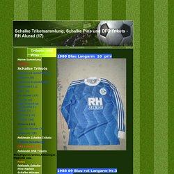 Schalke Trikotsammlung, Schalke Pins und DFB Trikots - RH Alurad (17)