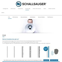 Schallsauger - Akustikbilder