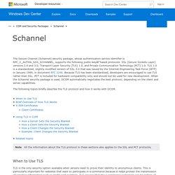 Schannel (COM)