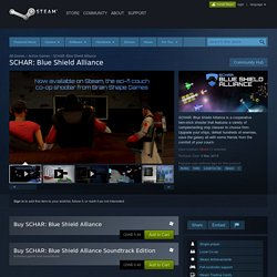 SCHAR: Blue Shield Alliance on Steam