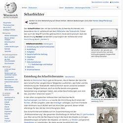 Scharfrichter