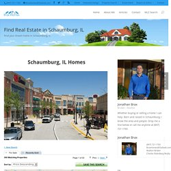 Schaumburg IL Homes, Homes for Sale, Home Sales Schaumburg IL, Buy Home in Schaumburg