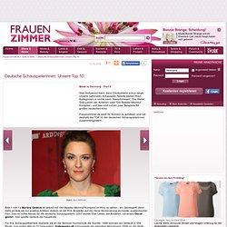Deutsche Schauspielerinnen: Unsere Top 10 - Frauenzimmer.de