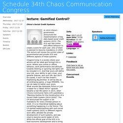 Schedule 34th Chaos Communication Congress