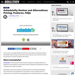 Schedulefly Review and Alternatives: Pricing, Features, FAQs