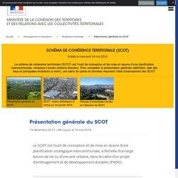 Schéma de cohérence territoriale (SCoT) - Ministère de la Cohésion des territoires