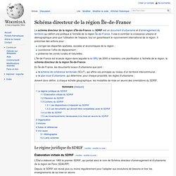 Schéma directeur de la région Île-de-France