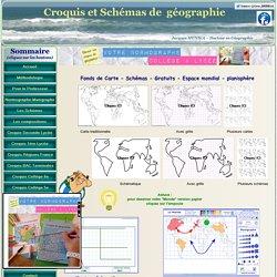 Fond de carte schéma espace mondial planisphère