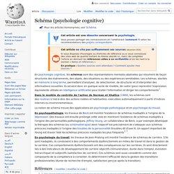 Schéma (psychologie cognitive)