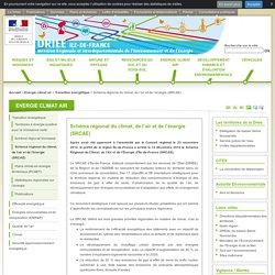 Schéma régional du climat, de l'air et de l'énergie (SRCAE)