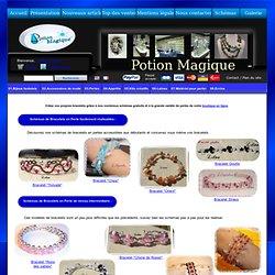 Schémas de Bracelets en Perles de différents niveaux