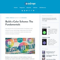 Build a Color Scheme: The Fundamentals