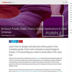 Purple Color Schemes, Design Applications, Meaning, and More