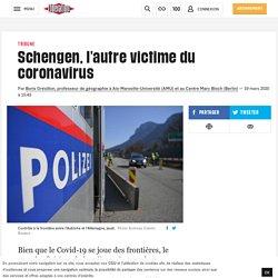 Schengen, l'autre victime du coronavirus