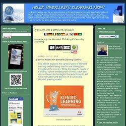 Seven Models for Blended Learning Success