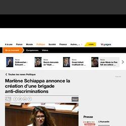 Marlène Schiappa annonce la création d'une brigade anti-discriminations