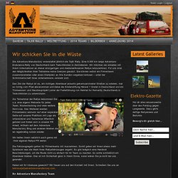 Corporate Sponsorship | Adventure Manufactory