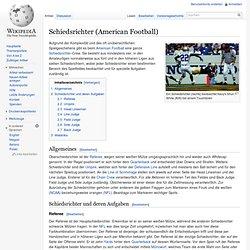 Schiedsrichter (American Football)