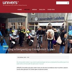 Dreiging schietpartij op Universiteit Leiden