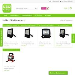LED Schijnwerpers online kopen bij ledhandel.nl - Ledhandel.nl