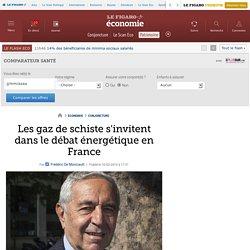 Les gaz de schiste s'invitent dans le débat énergétique en France