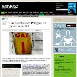 Gaz de schiste en Pologne : un pétard mouillé ?