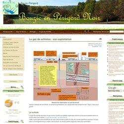 Le gaz de schistes : son exploitation - Bouzic-Perigord