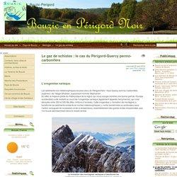 (Le gaz de schistes : le cas du Périgord-Quercy) permo-carbonifère - Bouzic-Perigord
