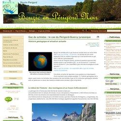 TP10 Gaz de schistes : le cas du Périgord-Quercy jurassique - Bouzic-Perigord