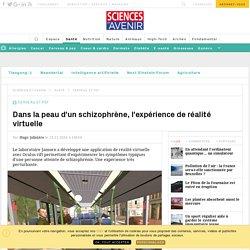 Dans la peau d'un schizophrène, l'expérience de réalité virtuelle - Sciencesetavenir.fr