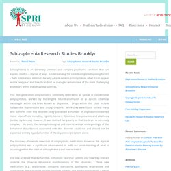 Schizophrenia Research Studies Brooklyn