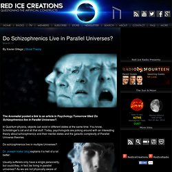 Do Schizophrenics Live in Parallel Universes?
