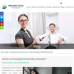 What Is Schizotypal Personality Disorder?