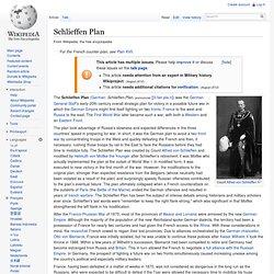 schlieffen plan failure essay How the schlieffen plan was supposed to work was the schlieffen plan foredoomed to failure the failure of the schlieffen plan essay.