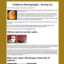 Schlieren Photography - Ian.Org