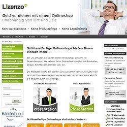 Dropshipping Konzept und Anbieter von schlüsselfertigen Onlineshops