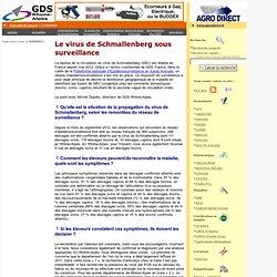 GDS RHONE ALPES 22/01/13 Le virus de Schmallenberg sous surveillance