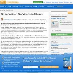 So schneiden Sie Videos in Ubuntu