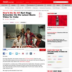 Kurt Hugo Schneider On His Latest Music Video for Coke: The Coca-Cola Company