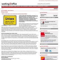 - Wann es sich lohnt, noch schnell einen Vertrag abzuschließen - - Unisex-Tarife - working@office