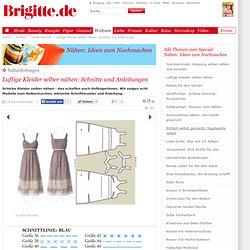 Luftige Kleider selber nähen: Schnitte und Anleitungen