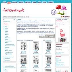 Modèles pour femmes: jupes, vestes, pantalons, robes, ... coudre moi-même - farbenmix Online Store - farbenmix Online Store - Patterns, instructions pour la couture