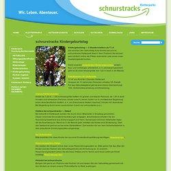 Schnurstracks Kletterparks - Kindergeburtstag