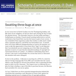 Scholarly Communications @ Duke - Discussions about the changing world of scholarly communications and copyright