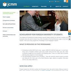 JCMM - Jihomoravské centrum pro mezinárodní mobilitu