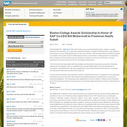 SAP: Acquisition of KXEN