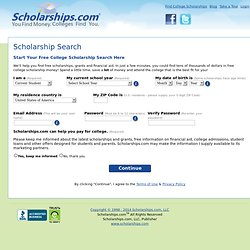 Scholarship Search, Find Scholarships & Pay for College - Scholarships.com